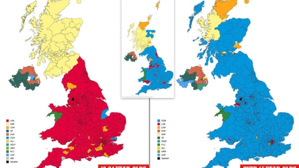 U.K. Election Results Map: How Conservatives Won in a Landslide